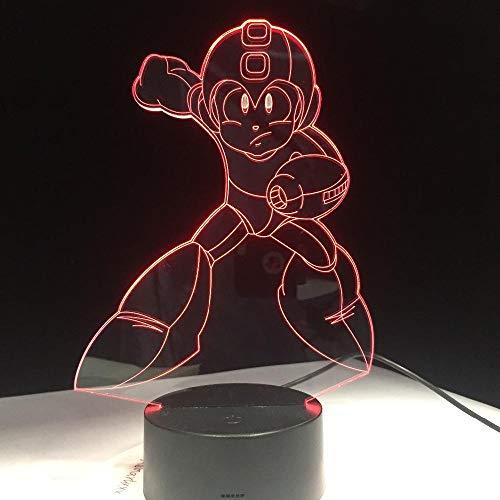 ZNNYE 3D Nachtlichter Kindergeschenke Astro Boy Figur Spielzeug Cartoon Cartoon Astroboy Led Nachtlichter Nachtlichter Mit 7 Farben Kindergeschenke