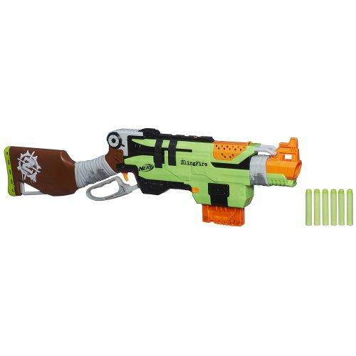 Hasbro Nerf Zombie Strike Slingfire Blaster -