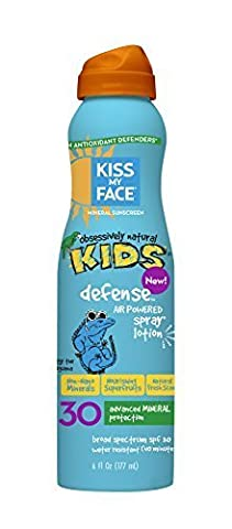 Sunscreen - Mineral - Continuous Spray - Kids Defense - SPF 30 - 6 oz