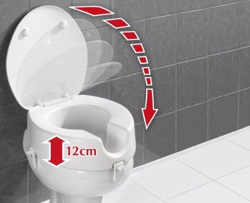 WENKO Toilettensitz mit Erhöhung