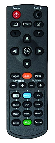 Optoma X344 Portable 3000 ANSI Lumens DLP 3D Projector - Black