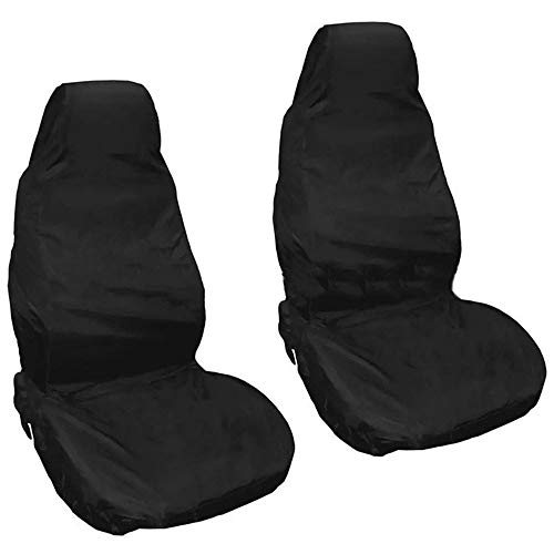ANFF-tarpaulins Copertura Antipolvere Universal Car Seat Cover Protettiva Facile da Pulire Durevole Telo Impermeabile Black-132 * 54cm