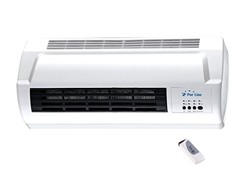 Calefactor cerámico Split 1000W / 2000W con mando a distancia HOTI M50 Purline