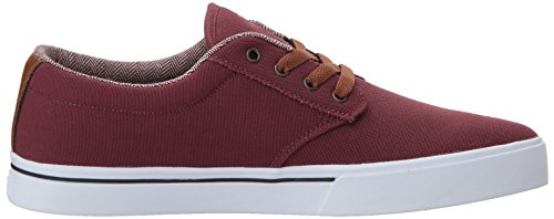 Etnies Jameson 2 Eco, Chaussures de Skateboard Homme Burgundy/Tan