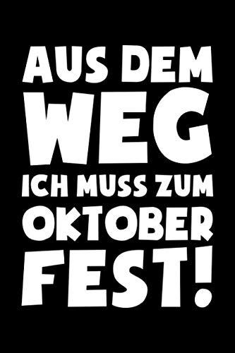 (...ich muss zum Oktoberfest: Notizbuch / Notizheft für Wiesn Oktoberfest Wiesn Outfit Deko Party Hemd A5 (6x9in) liniert mit Linien)