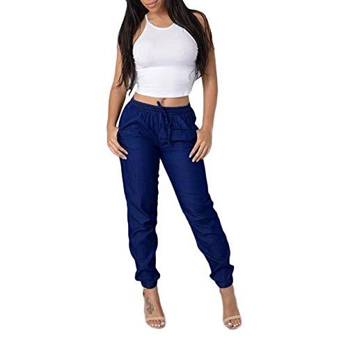 Pantalones Vaquero Mujer Otoño Invierno 2018 Moda