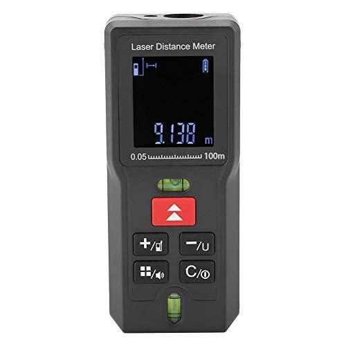 Laser Entfernungsmesser, Akozon MD-Serie Digitales Laser-Entfernungsmessgerät Laser Entfernungsmesser 2M II-Klasse (Batterien nicht enthalten)(MD100)