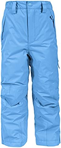 Trespass Norquay Pantalon de Ski Mixte Enfant, Cobalt, 5/6