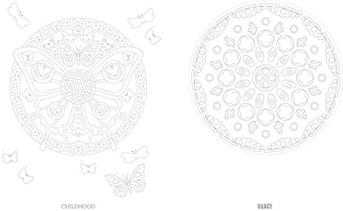 Adult Coloring Book: Color Yourself to Mindfulness: 100 Mandalas and Motifs to Color in to Reduce Stress (Adult Coloring Books)