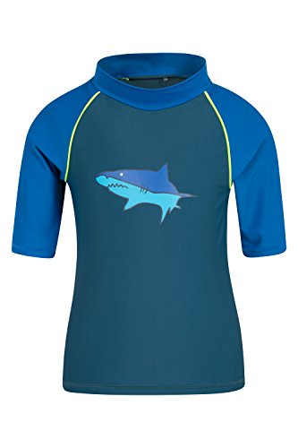 mountain-warehouse-t-shirt-enfant-fille-garcon-natation-sport-nautique-protection-anti-uv-upf50-tiss