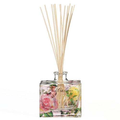 Yankee Candle 1348807E Home Fragrance Raumduft, Glas, Mehrfarbig, 22 x 8,5 x 3,5 cm (Rose Home Fragrance)