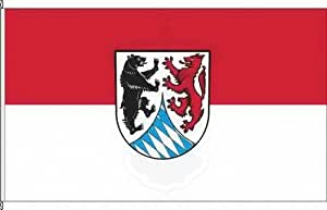Bannerflagge Landkreis Freyung-Grafenau - 120 x 300cm - Flagge und Banner