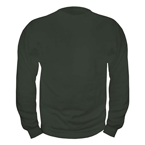 Sweatshirt S bis 3XL 4XL 5XL oliv grün