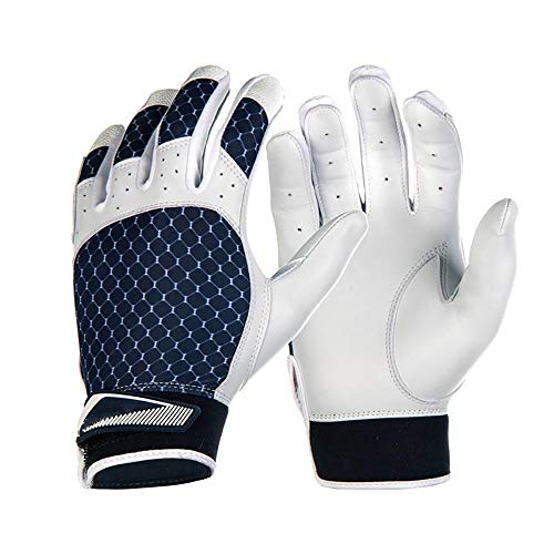 NICOLAS Baseball Strike Handschuhe (Color : Blue, Size : XL) -