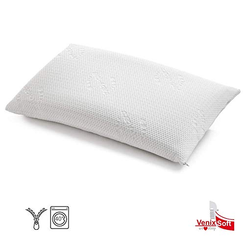 Fodere Antiacaro Per Cuscini.Venixsoft Coppia Fodere Per Cuscino In Memory Foam Lattice Fibra