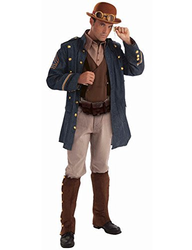 stüm braun blau M/L (Ein Offizier Und Ein Gentleman Kostüm)