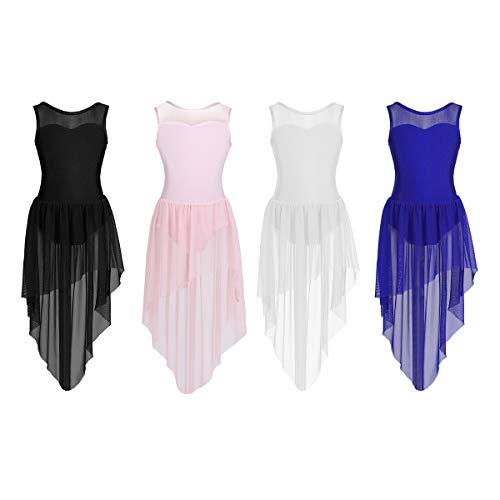 1f5bad176c0e0 Amazon CHICTRY. CHICTRY Robe Danse Latine Fille Robe Danseuse Robe Danse de  Salon Rumba Zumba Salsa ...