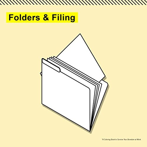0092a10c7bf83 Folders   Filing  A Coloring Book to Survive Your Boredom at Work