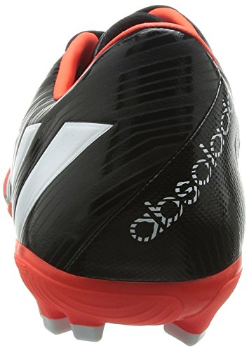 adidas Predator Absolado Instinct Ag, Chaussures de Football Compétition Homme Noir - Schwarz (Core Black/FTWR White/Solar Red)