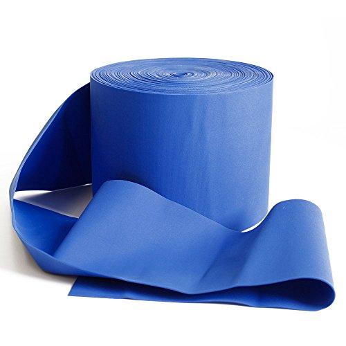 FTM Deuserband, Fitnessband Physioband für Aquagymnastik, Blau Extra Stark, Latexfrei, Länge 2m, Breite 10cm