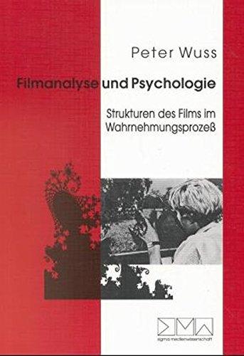 Filmanalyse und Psychologie. par Peter Wuss