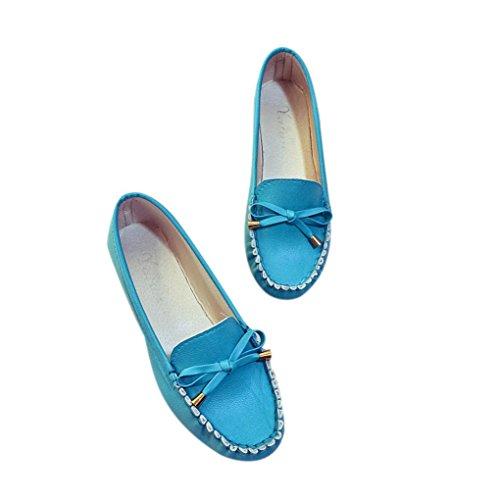 Bild von Omiky® Sommer Frauen Flache Schuhe Casual Flache Frauen Schuhe Slips Flache Damenschuhe