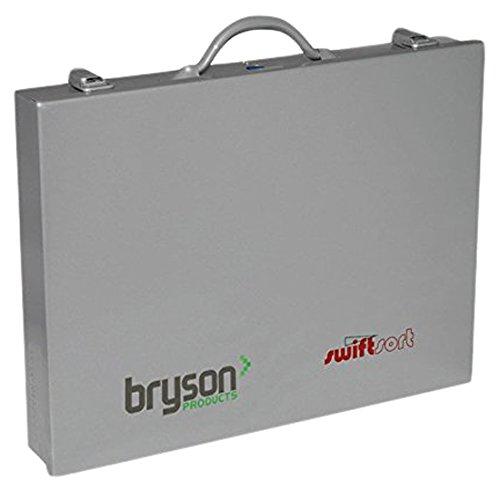 Bryson 09096CSK gelb Mehrzweck Schrauben gefüllt Sortment Fall, inkl. 850Schrauben, 300Stecker rot und 150Braun Plugs