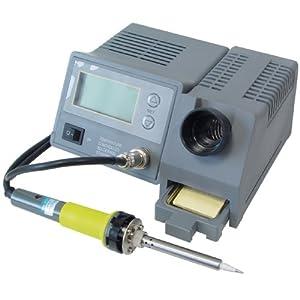 Transmedia Lötstation, elektronisch temperaturgesteuert, LCD-Anzeige, 5% Genauigkeit, Preis-Leistungssieger 2017, ZLS2L