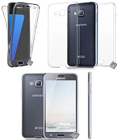 Samsung J 5 Telephone - CABLING® (Couverture complète) Coque INTEGRALE pour Samsung
