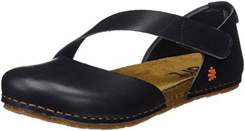art Damen 0442 Geschlossene Sandalen, Schwarz (Black Black), 38 EU