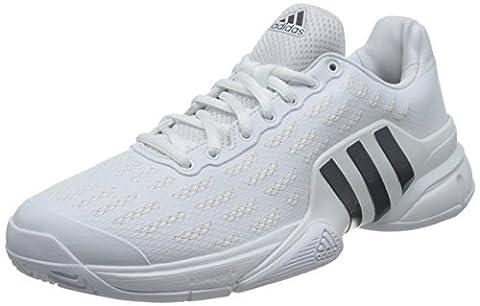 adidas barricade 2016 - Sneakers Tennis for Men, 41 1/3, White
