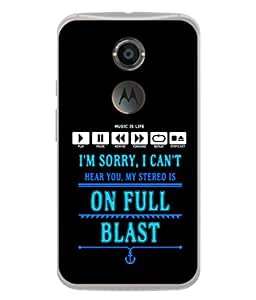 FUSON Designer Back Case Cover for Motorola Moto X2 :: Motorola Moto X (2nd Gen) (Illustration Inspiration Change Motivate )