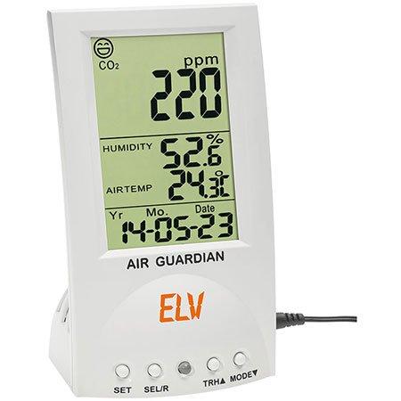 ELV CO2-Desktop-Datenlogger mit Thermo-/Hygrometer CDTL10