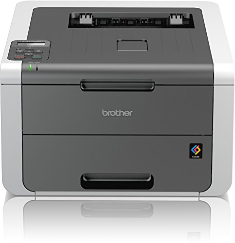 Brother HL-3142CW High-Speed Farblaserdrucker mit WLAN weiß/grau