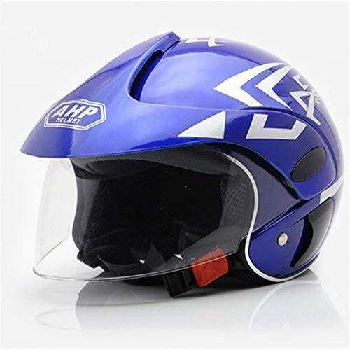 Kinder Fahrradhelm/Cartoon warmen winddichten Halbhelm Motorrad ATV Roller Helm Jungen und Mädchen leichte Schutzkappe (3-7 Jahre)