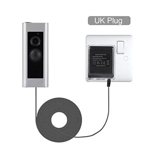 Power Adapter for Ring Video Doorbell,LANMU Video Doorbell Power Supply,Power Supply for Ring Video Doorbell 2 and Ring Video Doorbell Pro(UK Plug)