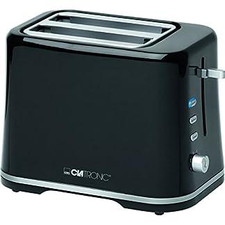 Clatronic-TA-3554-Toaster-schwarzsilber
