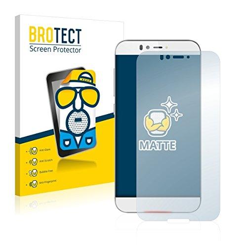 2X BROTECT Matt Bildschirmschutz Schutzfolie für UMi Iron (matt - entspiegelt, Kratzfest, schmutzabweisend)