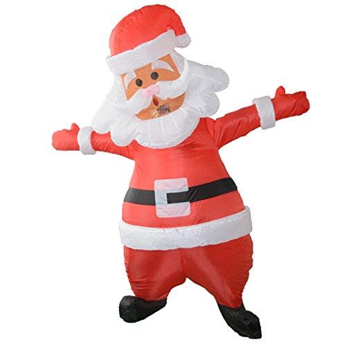 Fenteer Costume Gonfiabile Fenicottero Cavallino Pollo Costumi Travestimenti Per Halloween Carnevale - Babbo Natale