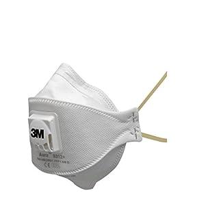 3M Aura Atemschutzmaske 9312+SV (5 pack), EN-Sicherheit zertifiziert