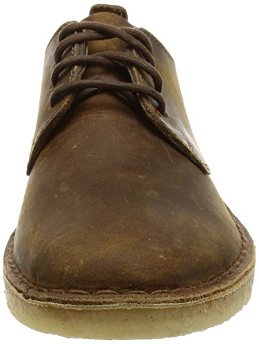 Clarks Originals London Herren Desert Boots Braun (Beeswax)