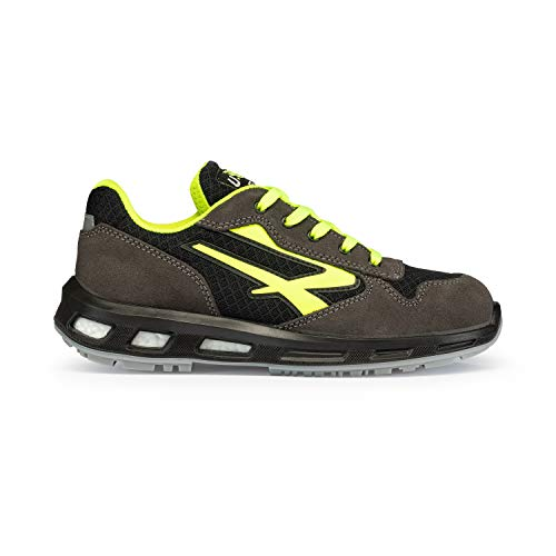 U POWER Yellow S1p SRC, Scarpe Antinfortunistiche Unisex-Adulto, Giallo (Jaune 000), 45 EU