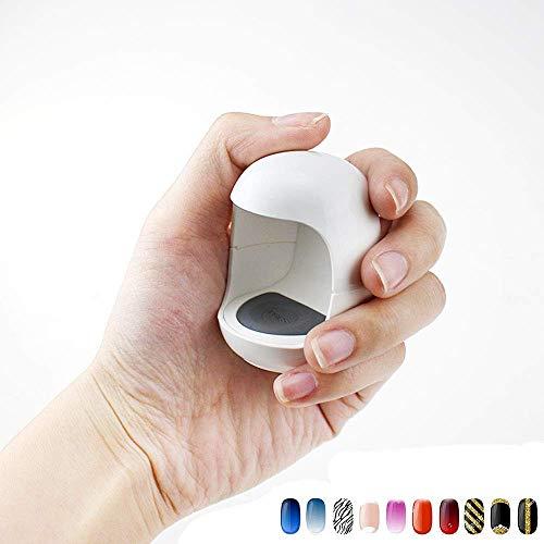 UV lámpara uñas LED Mini cable Q forma cable Material