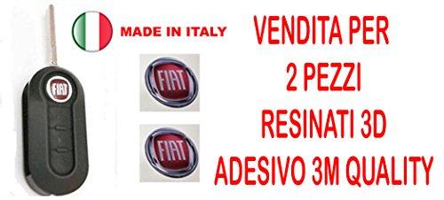 14mm Sticker Stickers pour clé logo emblème Badge en résine effet 3d 3m Quality