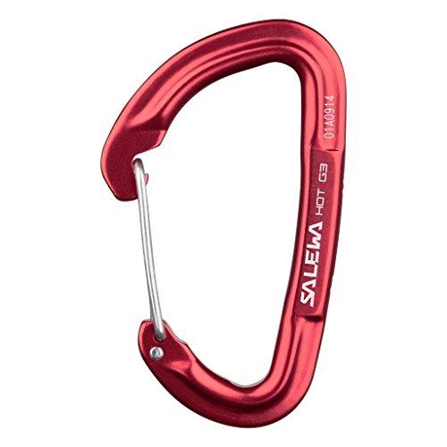 SALEWA Erwachsene Hot G3 Wire Karabiner, rot, UNI