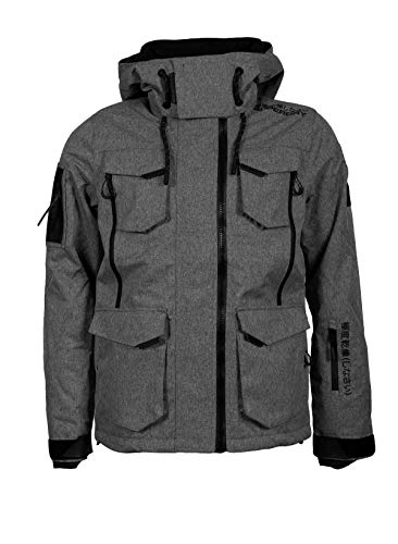 Preisvergleich Produktbild Superdry Skijacke Ultimate Snow Action Jacket für Herren (Rock Grey Grit)-L