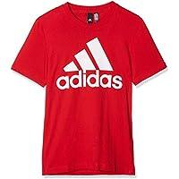 Adidas ESS Linear tee Camiseta, Hombre, Rojo/Blanco (Scarlet), XS
