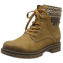 MARCO TOZZI Women's 2-2-26220-23 Snow Boots, Yellow (Corn Anthracite Com 681), 5 UK