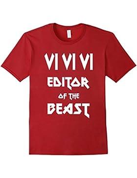 VI VI VI Editor of the Beast - Heavy Metal Geek T-Shirt