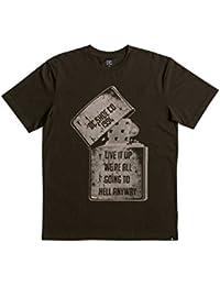 Tee shirt DC Dead Above Dark Vert Foncé
